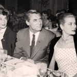 Cary with Grace Kelly and his third wife Betsy Drake