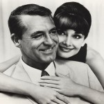 Cary and his Charade co-star Audrey Hepburn