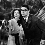 Cary and Katherine Hepburn in Bringing Up Baby