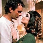 Elizabeth and Richard Burton in Cleopatra