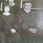 James Dean's graduation picture