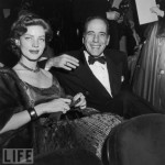 Bogie and Bacall at the Oscars in the early 50's