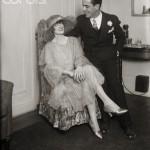 Humphrey Bogart and Helen Menken