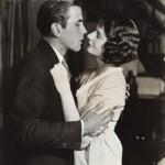 Humphrey Bogart Kissing Mary Philips