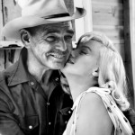 Clark and Marilyn Monroe during shooting of The Misfits