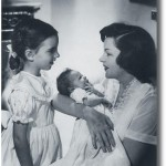 Judy, Liza and newborn Lorna