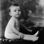 Judy Garland at Age One