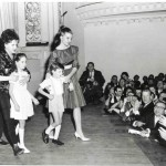 Judy at Carnegie Hall with her children
