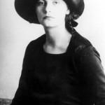 Greta Garbo as a hatmodel in the early 20's