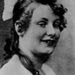 Greta Garbo as a little girl