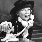 Katharine Hepburn as Coco Chanel