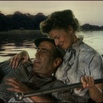 Katharine and Humphrey Bogart in Out of Africa
