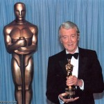 James Stewart and his honorary Oscar