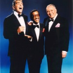 Frank Sinatra, Dean Martin, Sammy Davis Jr promote their tour