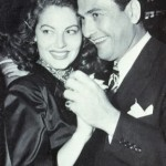 Ava Gardner and second husband Artie Shaw