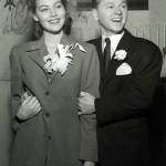 Ava and Mickey Rooney's wedding