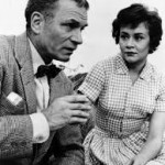Laurence Olivier and Joan Plowright in The Entertainer in 1960