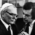 Laurence Olivier in The Jazz Singer with Neil Diamond