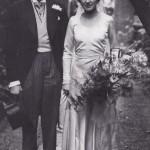 Laurence's wedding to Jill Esmond