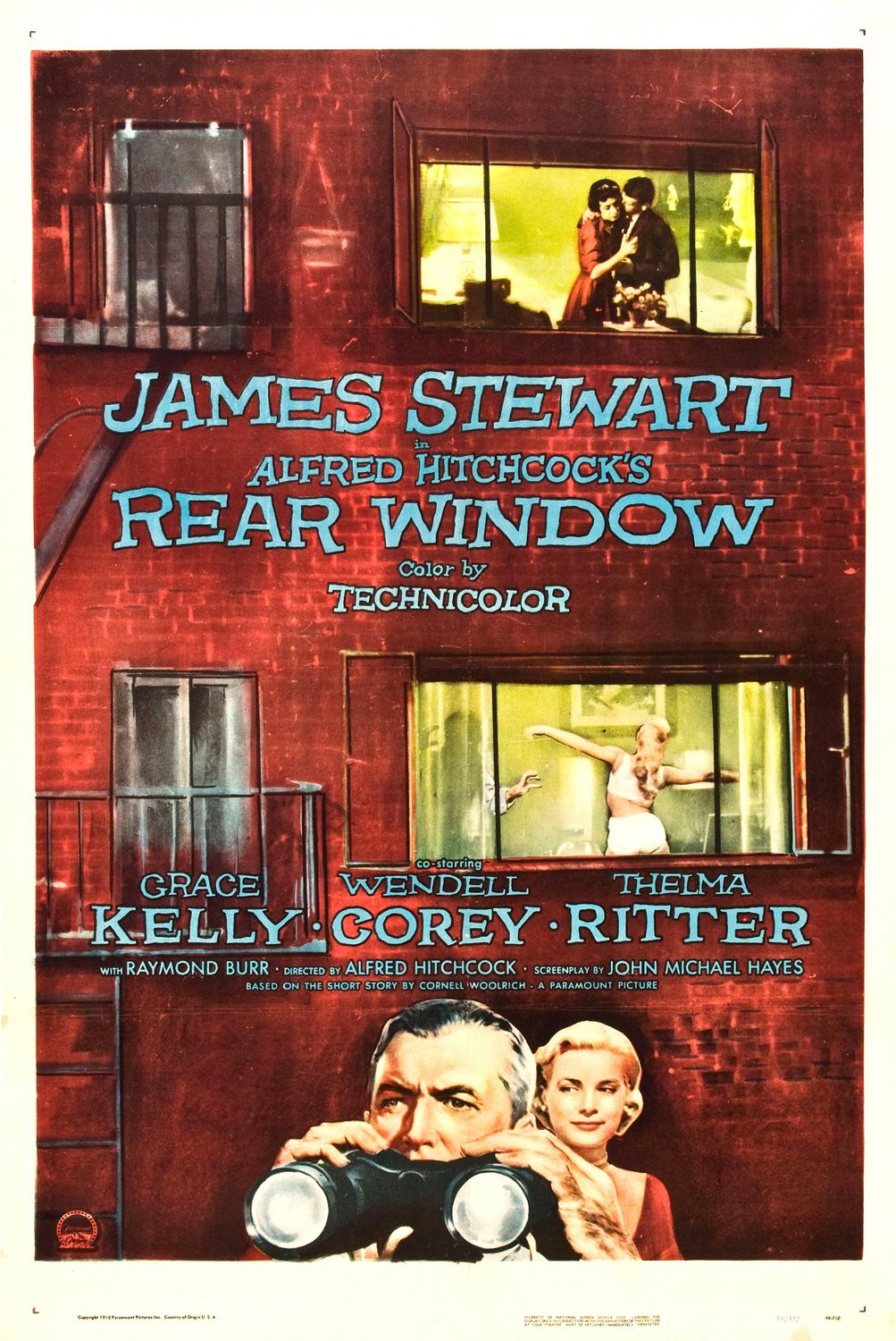 alfred hitchcock in rear window