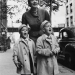Marlene Dietrich and her two oldest grandsons