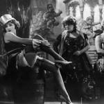 """""""Der blaue Engel""""D 1929/30Marlene Dietrich, Rosa Valetti, ? (v.l.n.r)"""