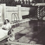 Marlene and daughter Maria in their Hollywood home