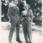 Marlene and lover Brian Aherne