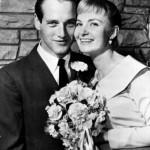 Paul Newman and Joanne Woodward's wedding