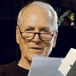 Paul Newman voicing Doc for the film Cars