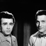Paul and james Dean doing a screentest