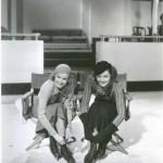 Jean Harlow and Myrna Loy filming Wife vs. Secretary