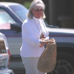 Doris Day out and about in 2000