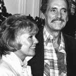 Doris and Rock Hudson during their last reunion in 1985