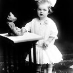 Lucille Ball as a child