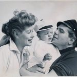 Lucy, Desi and their daughter