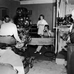 Lucy and Desi filming I Love Lucy for the first time