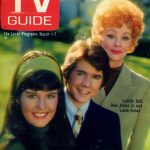 Lucy and her children on the cover of TV Guide