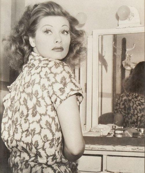 Lucille Ball eyebrows