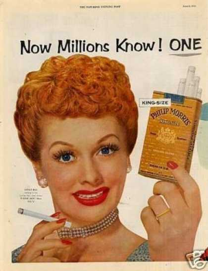 Lucille Ball for Phillip Morris