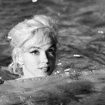 Marilyn During the filming of Somethings Gotta Give