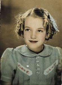 Marilyn as a child