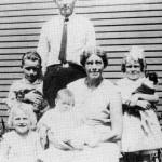 Marilyn right with the Bolender family