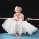 Photoshoot with Milton Greene in 1954