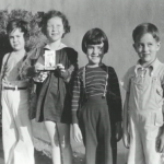 Little James Dean right with his friends1
