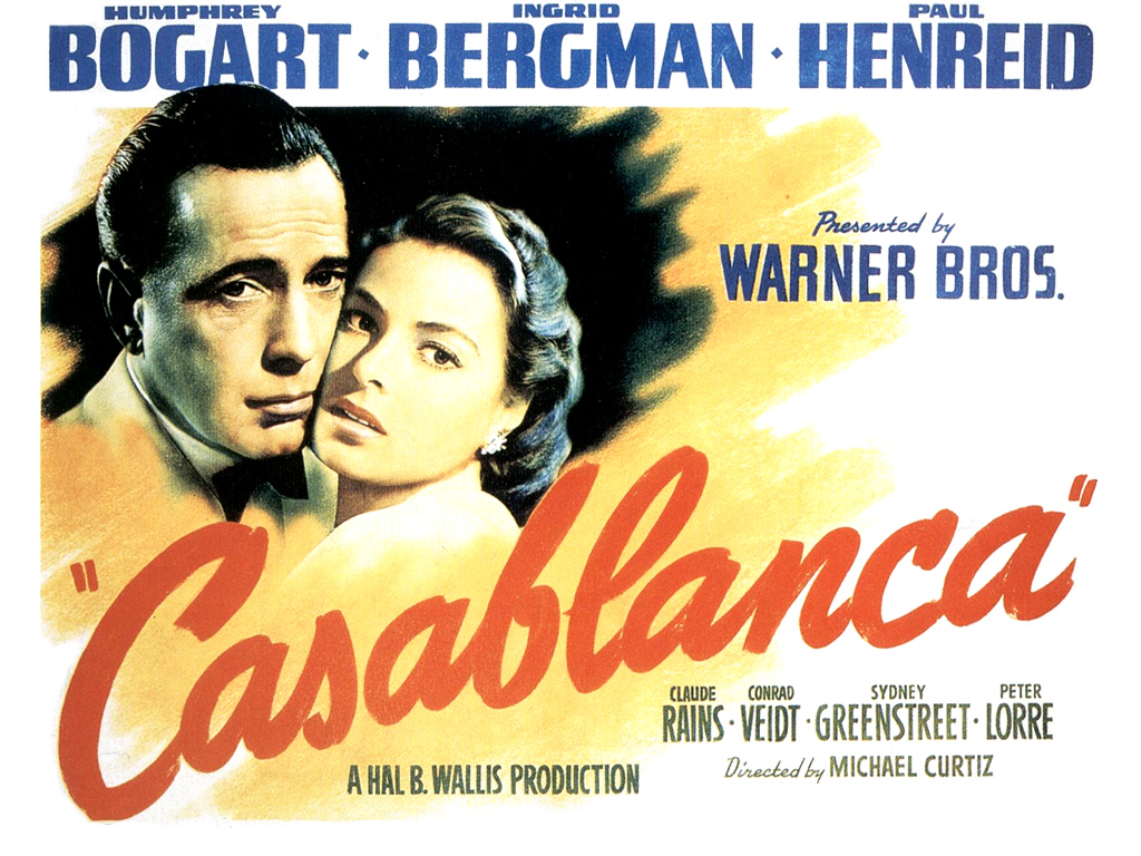 casablanca movie poster 1664