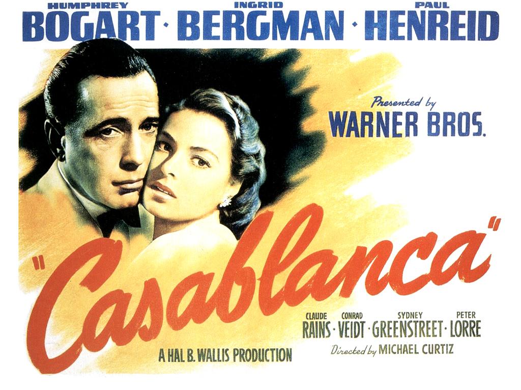 casablanca movie poster 1664
