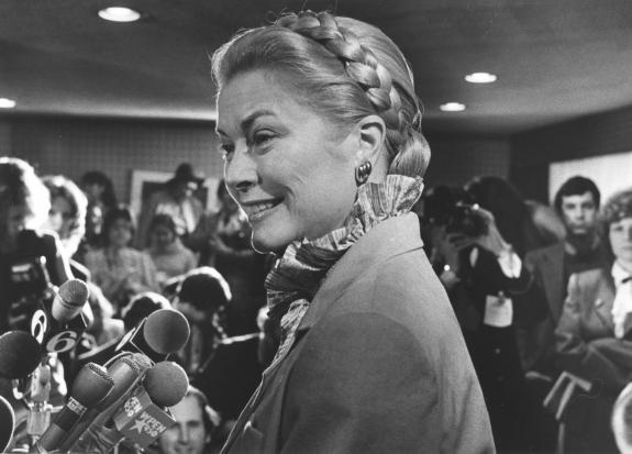 Being honored at a gala in Philadelphia a couple of months before her death1