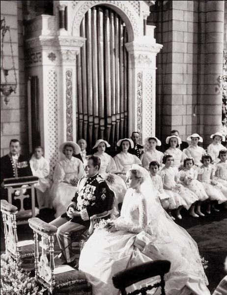 Grace and Rainiers wedding