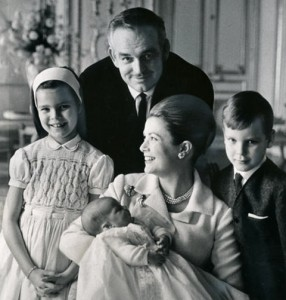 Grace and her family